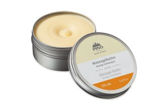 Massagebutter Orange Lemongras, 170 ml