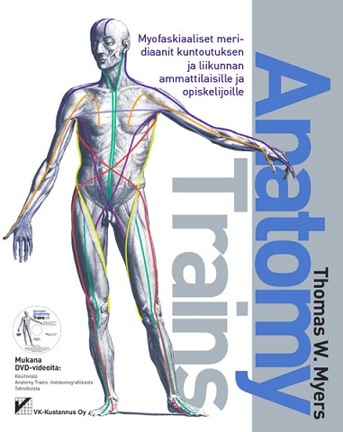Anatomy Trains - En bok på finska
